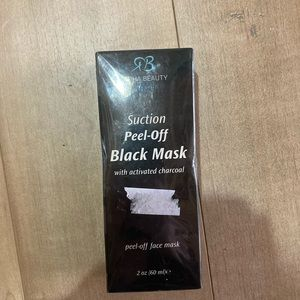 Radha suction peel off mask w activated charcoal
